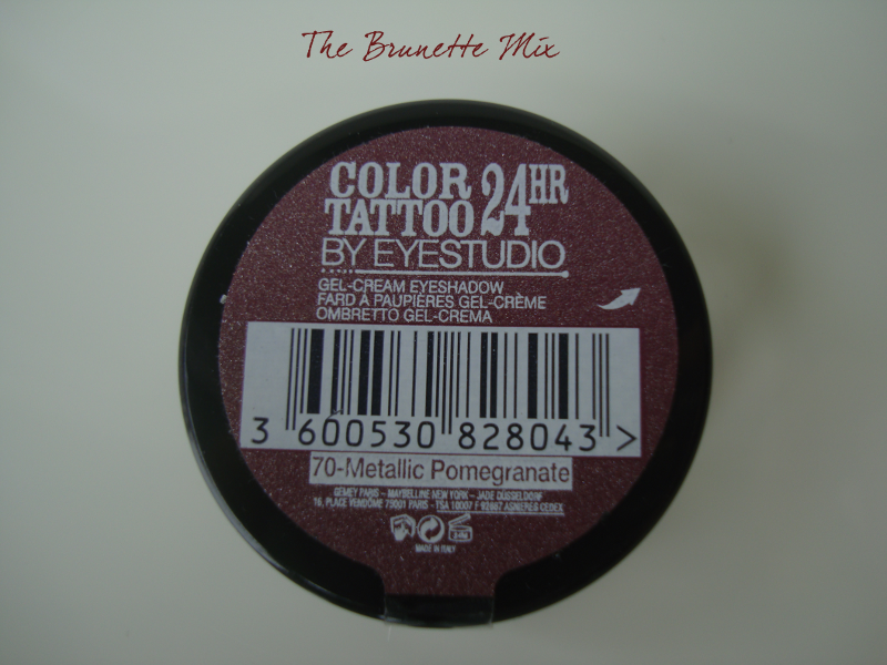 Color Tatoo - Metallic Pomegranate
