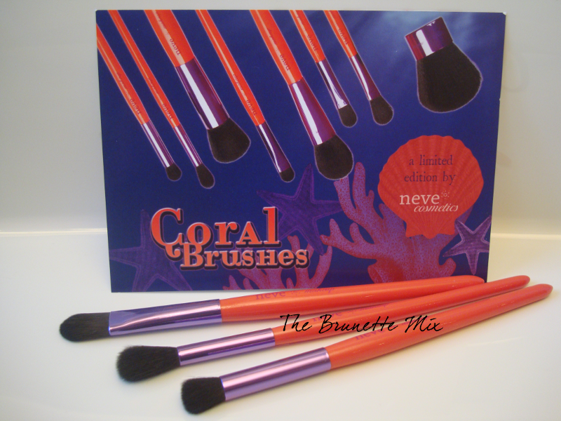 Neve Coral Brushes