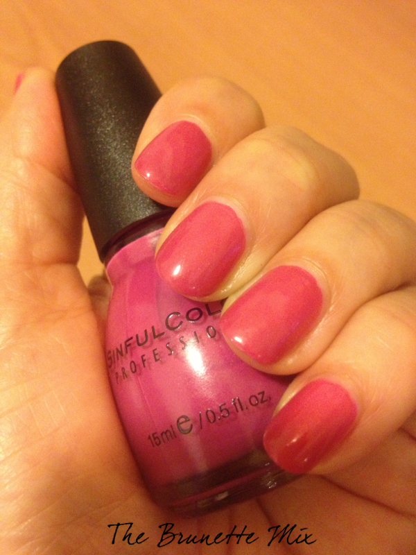 Sinfulcolors Cream Pink