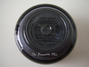 MakeUpForEver Aqua Cream 01-Anthracite