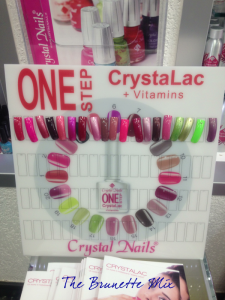 Crystal Nails One Step display