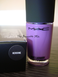 MAC Heroine nailpolish