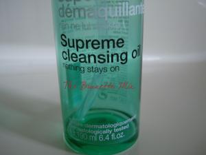 Sephora supreme cleansing oil dett