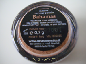 Neve Cosmetics - bronzer Bahamas
