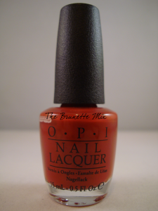 OPI First date at the Golden Gate
