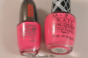 Pupa Lasting Color Gel 017 - OPI 'Hey Baby'