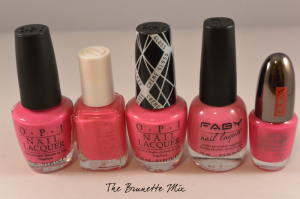 pink polishes cream