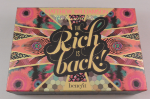 Benefit - The rich is back!
