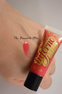 "lip gloss ""Inferno"" Benefit"