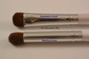 Elf eyeshadow & blending brush detail