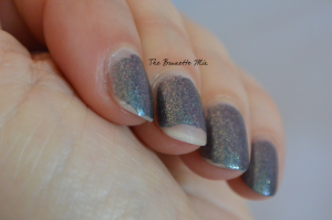 OPI glitter off day2 detail