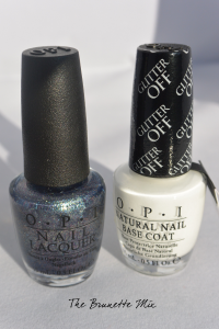 OPI glitter off & polish