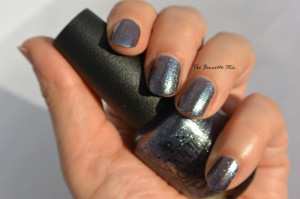 OPI on her Majesty's secret service swatch