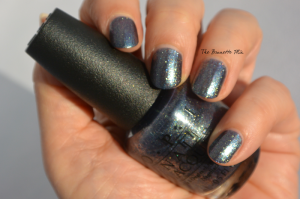 OPI on her Majesty's secret service swatch2