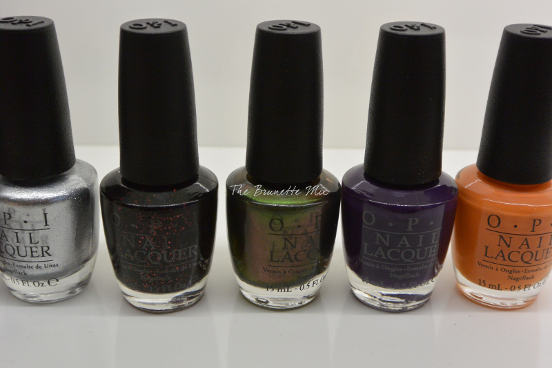 OPI Coca-Cola collection 5 6 7 8 9