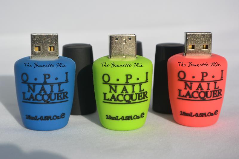 OPI nailpolish usb flash drive