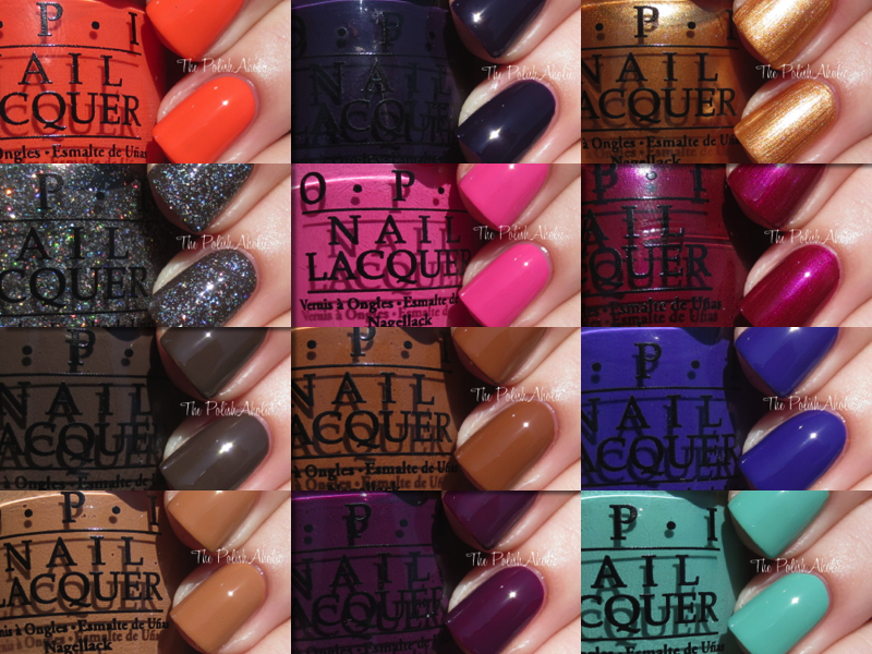 OPI Nordic Collection - thepolishaholic.com