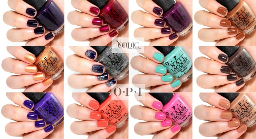 OPI Nordic collection - nailderella.com