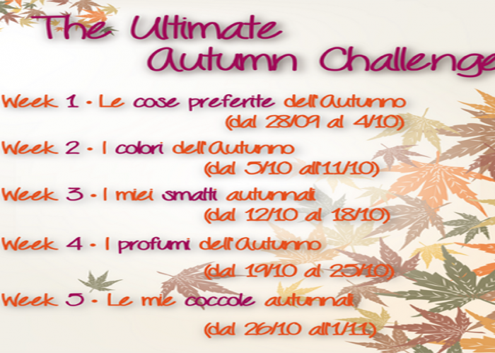 Ultimate Autumn Challenge