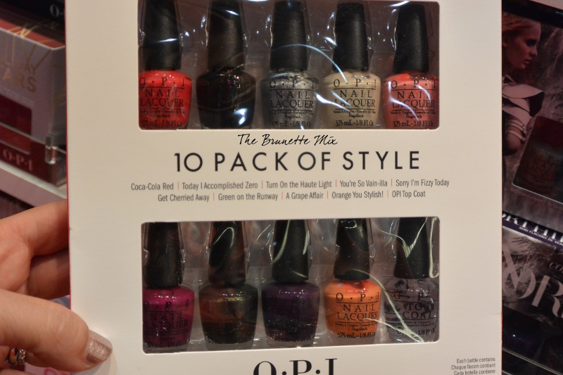 OPI 10 pack of style