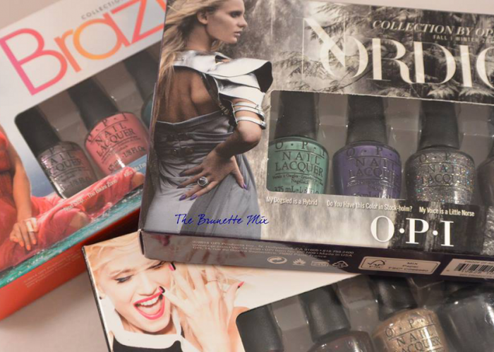 Kit mini OPI TheBrunetteMix