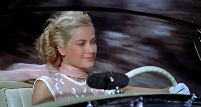 Grace Kelly in 'Caccia al ladro' - foto tratta da blog.chili-tv.it