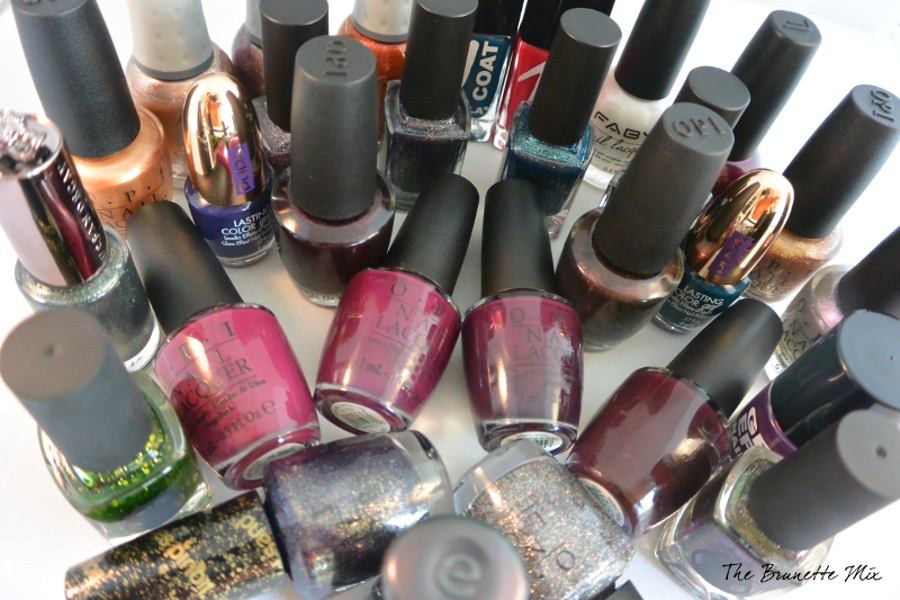 nail polish collection TBM