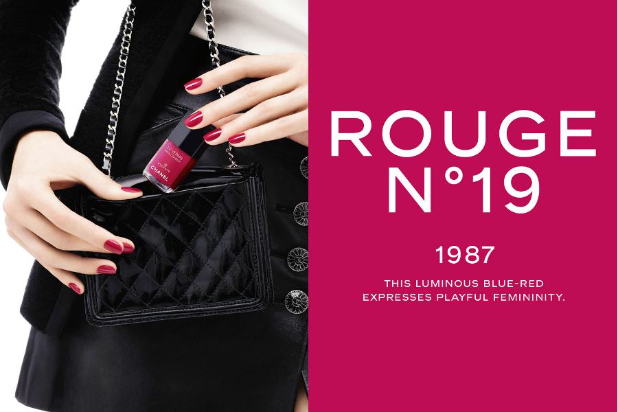Chanel Rouge n19