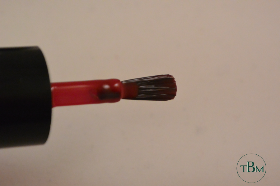 TNS nail polish brush