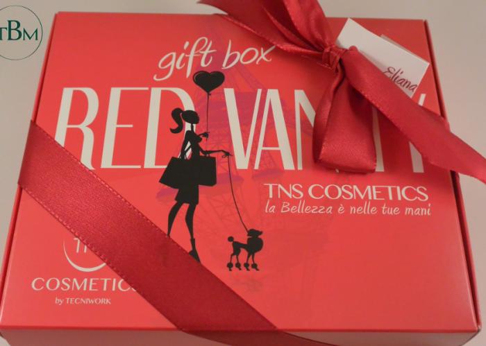 TNS red vanity gift box