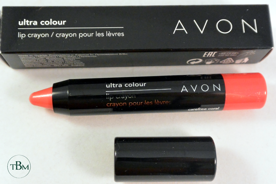 Avon-Carefree Coral lip crayon