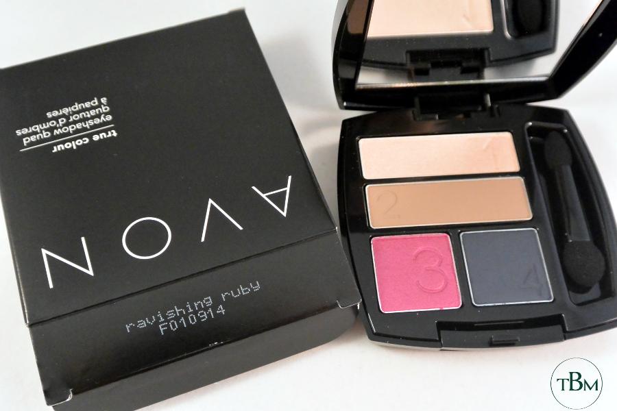 Avon-Ravishing Ruby palette