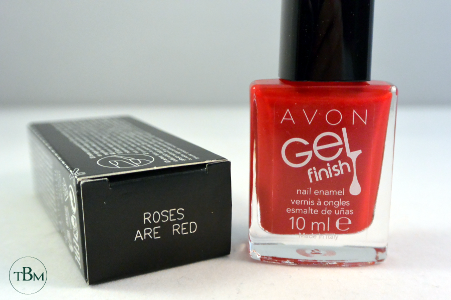 Avon-Roses are red