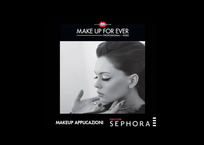 Make up school MakeUpForEver in tour 2015