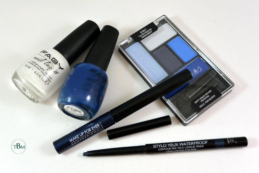 Santorini makeup