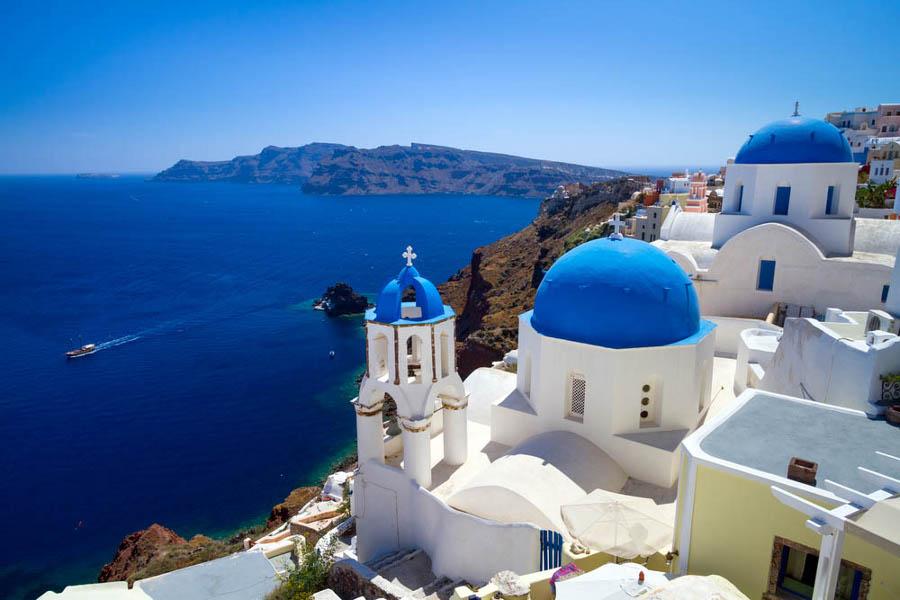 viaggiare in bellezza Santorini