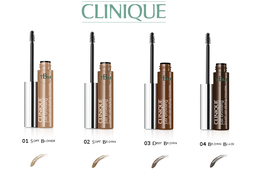 Clinique Just Browsing Brush-On Styling Mousse