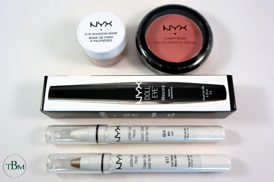 NYX giveaway eyes face