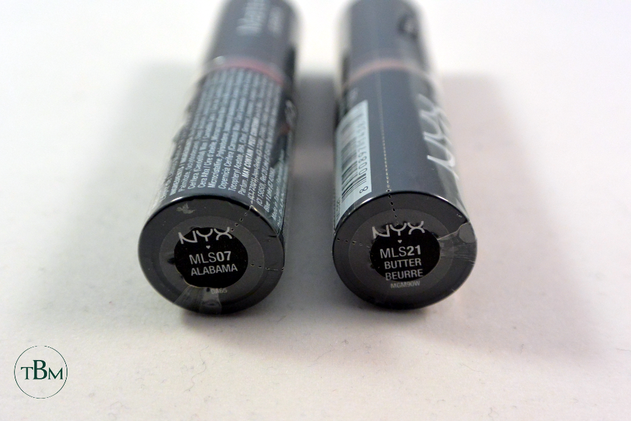 NYX giveaway lipstick