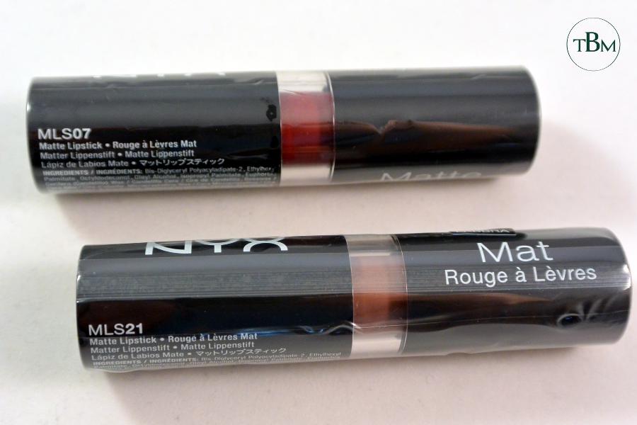NYX giveaway matte lipstick