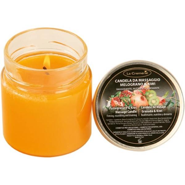 LaCremerie - candela da massaggio melograno kiwi