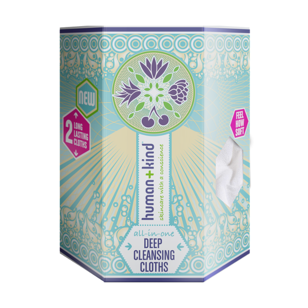 Human+Kind deep cleansing cloths