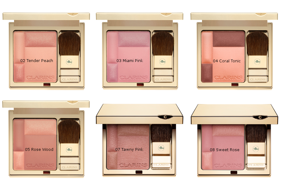 Clarins makeup autunno 2016 blush