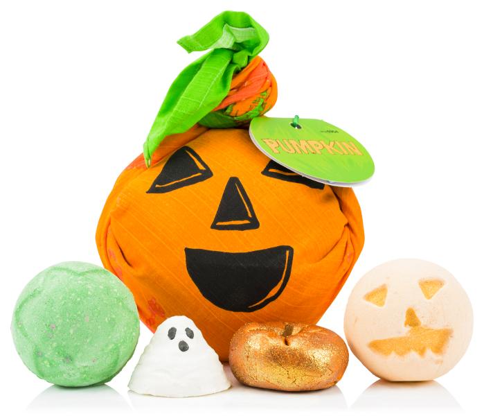 Lush Halloween 2016 - Pumpkin gift