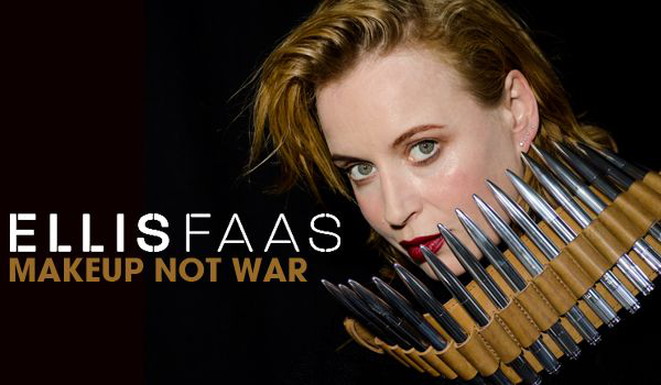 Ellis Faas makeup not war