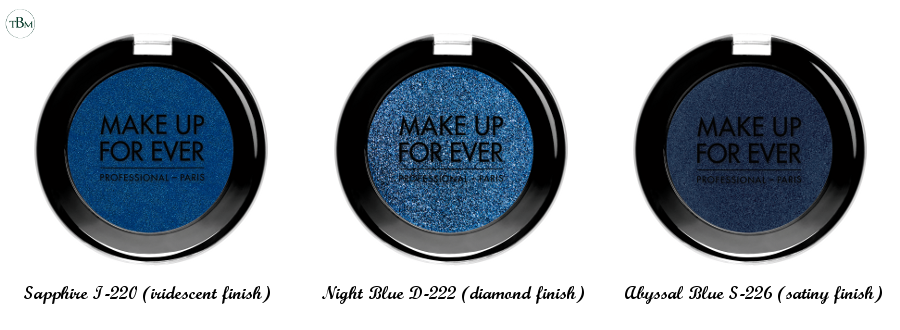 Make Up For Ever blue artist shadow
