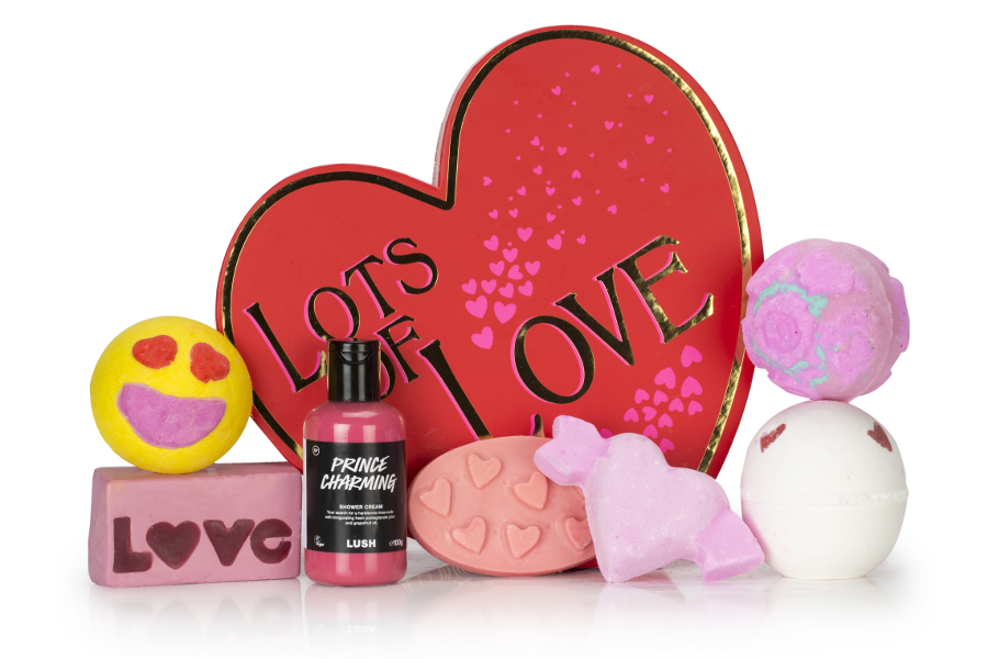 Lush San Valentino 2017 - lots of love