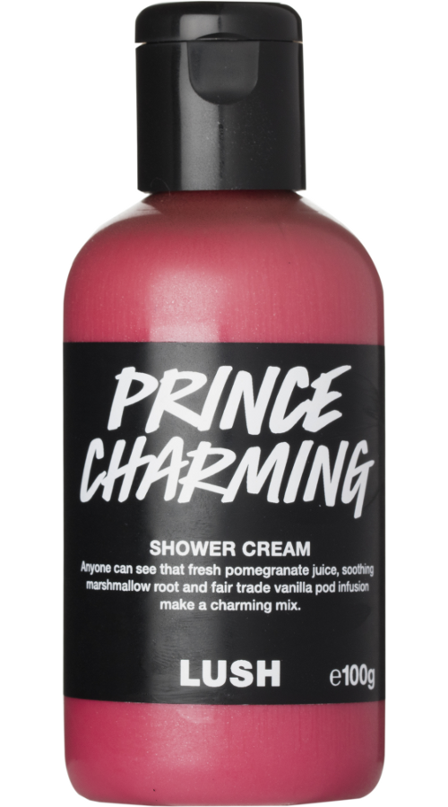 Lush San Valentino 2017 - prince charming shower cream