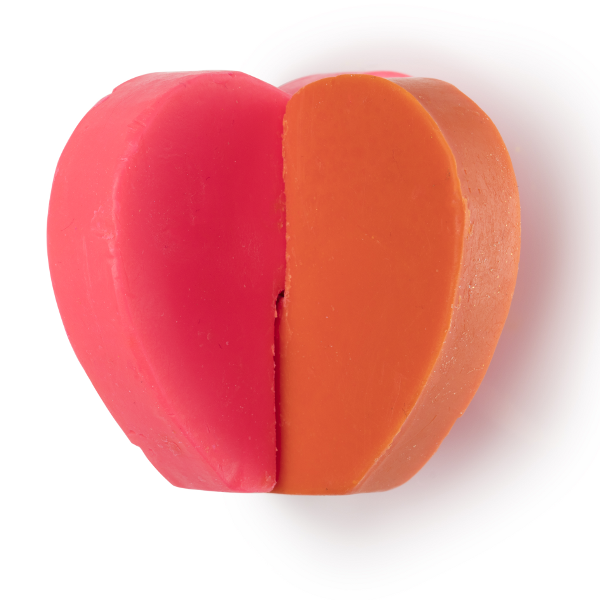 Lush San Valentino 2017 - two hearts bathing as one bath oil