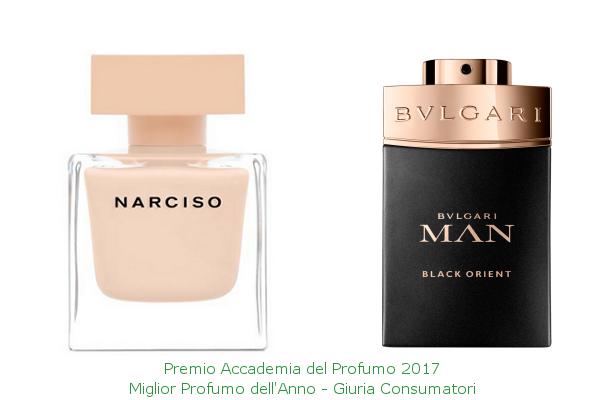 vincitori del Premio Accademia del Profumo 2017 - giuria consumatori